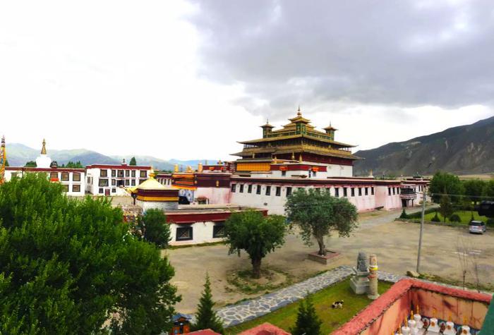 Samye monastery in Tsedang
