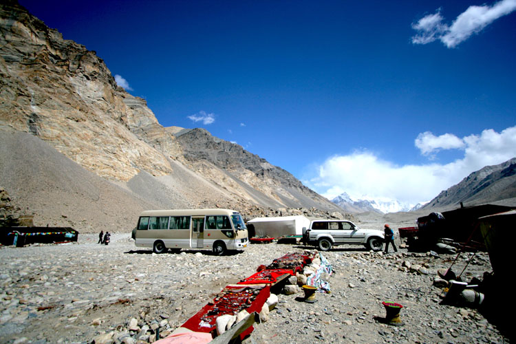 Mount Everest Base Camp local stall