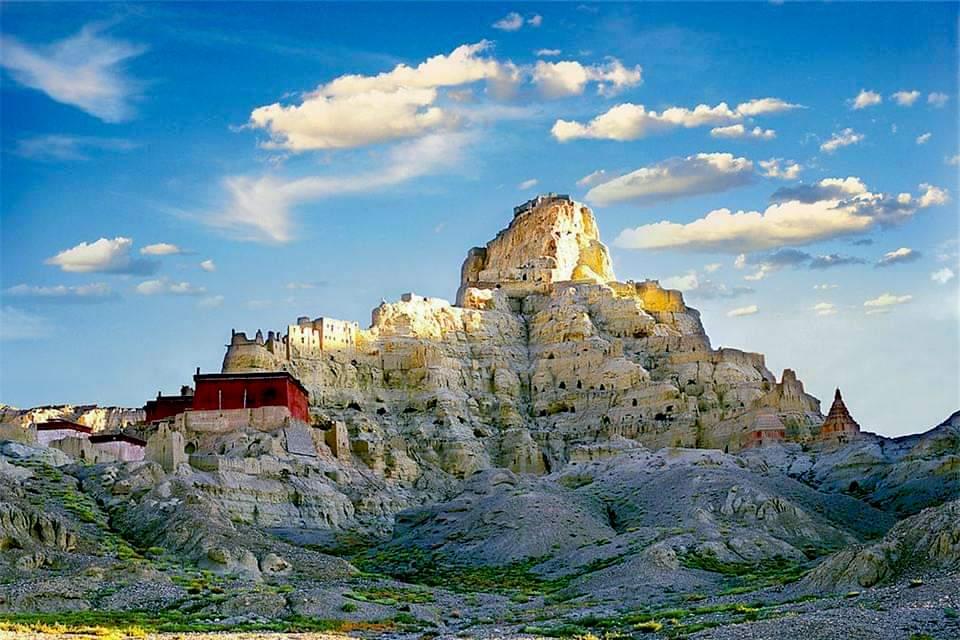 Guge Kingdom in western Tibet