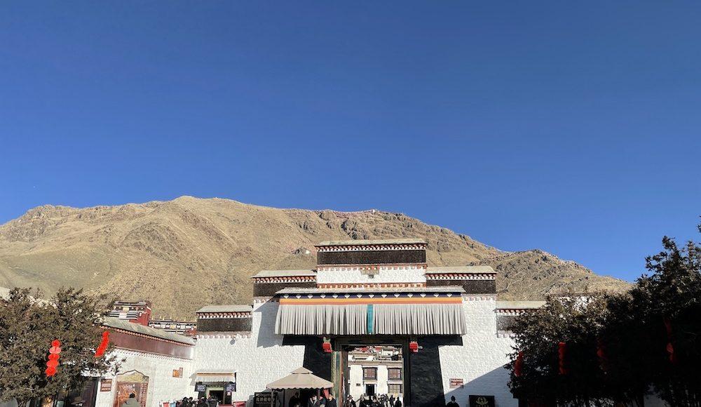 main gate of Tashi Lhunpo Monastery in Shigatse