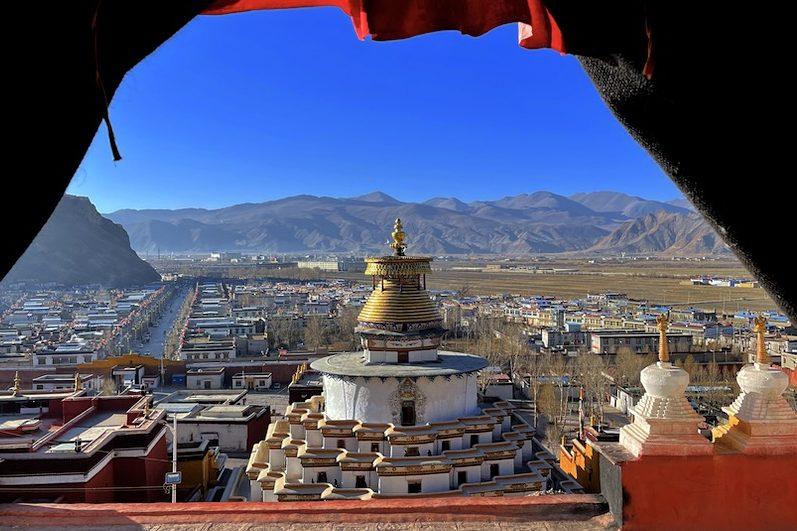 Gyantse in Tibet