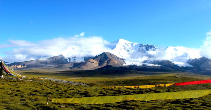 Amnye Machen mountain
