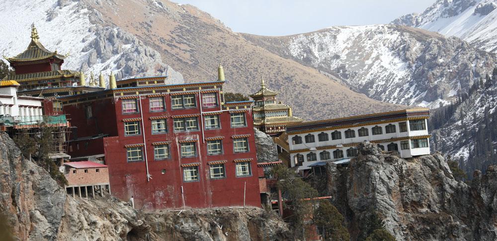 Gar monastery in nangchen county