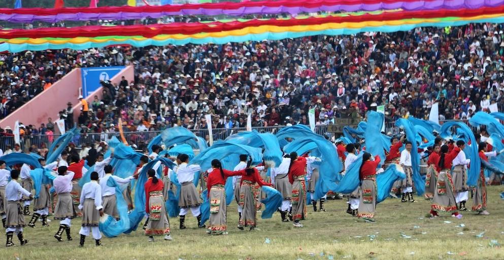 Tibetan Dancing performance