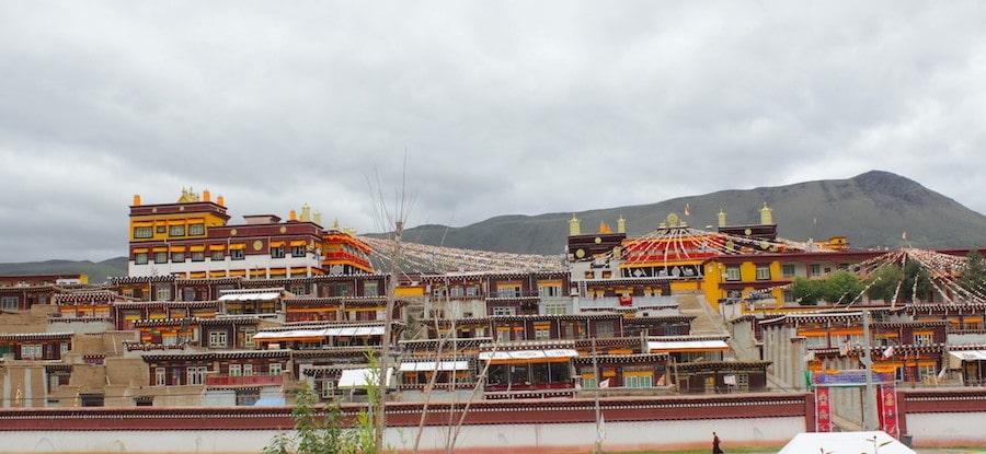 Dhargyal monastery in Garze county