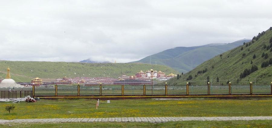 Dzogchen monastery in Dege