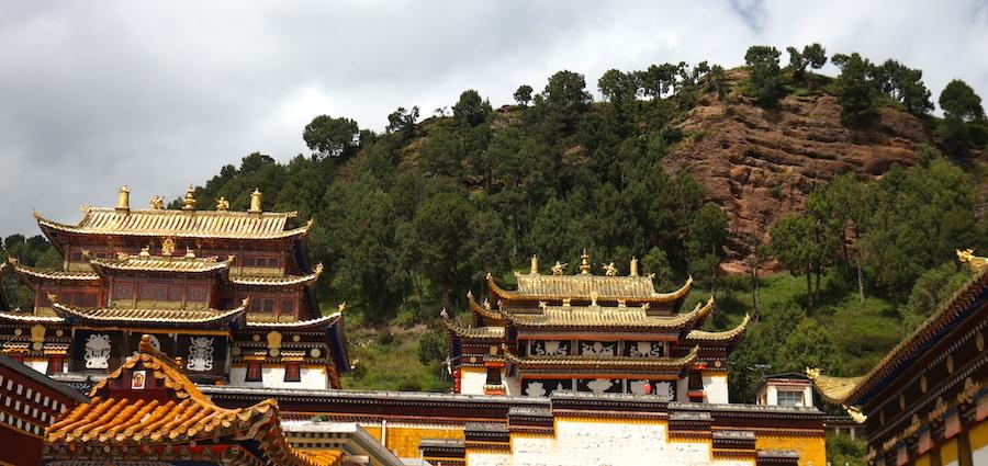 monastery in Luqu