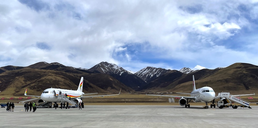 Yushu airport