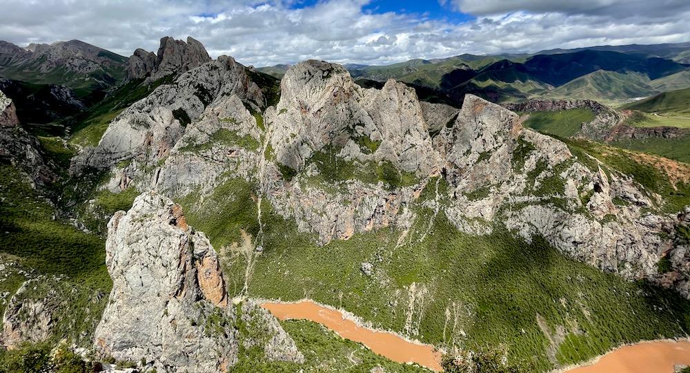 landscape near the Drakza Monastery