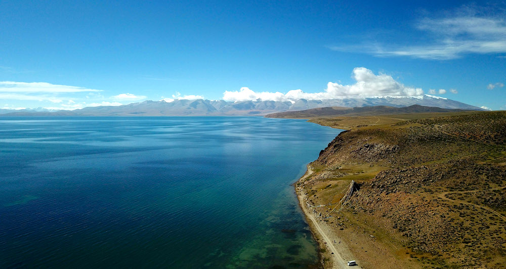 Lakes in Tibet